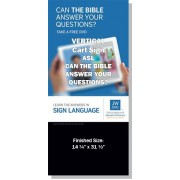 "VPQUASL-ASL - ""Can The Bible Answer Your Questions?"" - Cart"