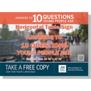 "HPYPQ - ""Answers To 10 Questions Young People Ask"" - Table"
