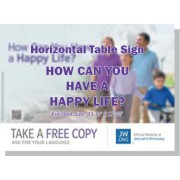 "HPHL - ""How Can You Have A Happy Life"" - Table"
