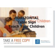 "HPYC - ""Teach Your Children"" - Table"