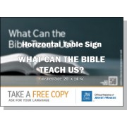 "HPBHS - ""What Can The Bible Teach Us?""- Table"