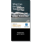 "VPBHS - ""What Can The Bible Teach Us?"" - Cart"