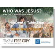 "HPJY - ""Who Was Jesus - Why Do You Need To Know Him?"" - Table"