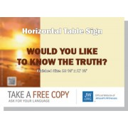 "HPKT - ""Would You Like To Know The Truth?"" - Table"