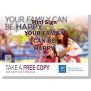 "HPHF - ""Your Family Can Be Happy"" - Mini"