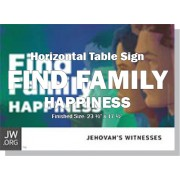 "HPFFY - ""Find Family Happiness"" - Table"