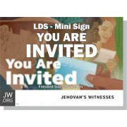 "HPNVT - ""You Are Invited"" - LDS / Mini"