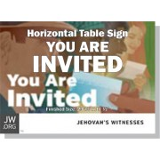 "HPNVT - ""You Are Invited"" - Table"