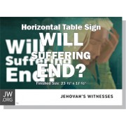 "HPSFF - ""Will Suffering End?"" - Table"