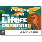 "HPWLC - ""Was Life Created?"" - LDS/Mini"