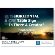 "HPCT - ""Is There A Creator Who Cares About You"" - Table"