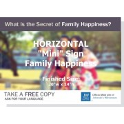 "HPFY - ""What Is The Secret Of Family Happiness"" - Mini"