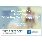 "HPRK - ""Real Faith - Your Key To A Happy Life"" - Mini"
