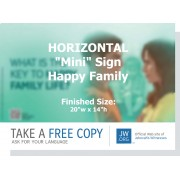 "HPT-32 - ""What Is The Key To Happy Family Life?"" - Mini"