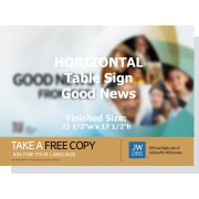 "HPFG - ""Good News From God"" - Table"