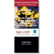 "VPG-17.5 - 2017 Edition 5 - Awake - ""When Disaster Strikes - Steps That Can Save Lives"" - Cart"