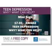 "HPG-17.1 - 2017 Edition 1 - Awake - ""Teen Depression Why? What Can Help?"" - Mini"