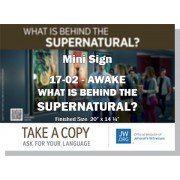 "HPG-17.2 - 2017 Edition 2 - Awake - ""What Is Behind The Supernatural?"" - Mini"